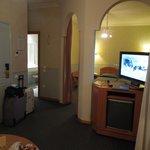 Coin salon et chambre