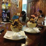 delicous halo halo at the Cou Cou Bar