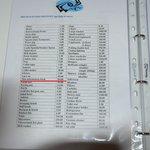 """Liste im """"Informationsbuch"""""""