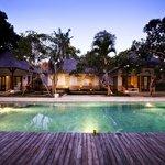 A romantic scene of Villa Cinta