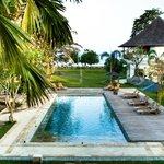 The compound of Villa Cinta