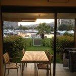 Terrasse + pelouse