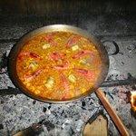 paella de pescado -  fish paella
