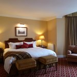 'Ugadale Hotel' - sumptuous Emperor-sized bed
