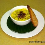 Come and try our Creme brulee passion