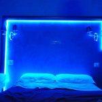 LEDs en la cabecera de la cama