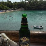 alyki beach and mythos