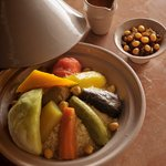 Traditional couscous at La Sultana Marrakech