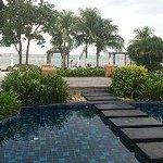 Utsikt vid pool