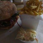 Yankee Burger (Burger and Pulled Pork)