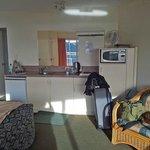 Roomy kitchen facility