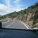 strada ritorno ----monti monti e ancora monti