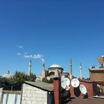 Hagia Sophia Museum from rooftop...
