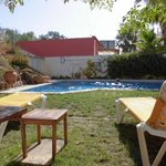 Studio mit Terrasse am Pool