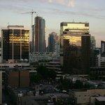 Vista del atardecer desde el Carmana Plaza