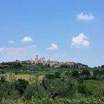 Desde mi habitación, San Gimignano