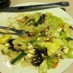 Greek salad.  love the olives