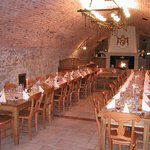 Our evening in wine cellar