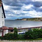 Runswick Bay fishing village, 10-15 mins walk from the pub.