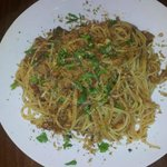 linguine con le sarde in agrodolce