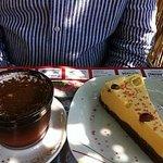 Vegamisú and cake con mousse di melone