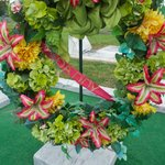 "Floral arrangement to ""Daddy"""