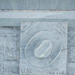 CU of grave inscription