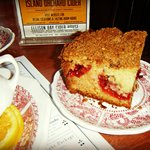 Cherry Coffee Cake at the White Gull Inn