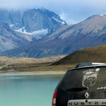 Torres del Paine con mi Duster