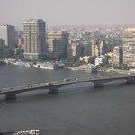 Panorámica de El Cairo y maravilloso río Nilo