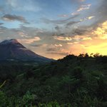 Sunset on Arenal