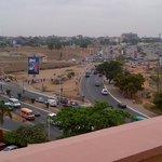 View from balcony (African Regent 2 Bedroom Suite)