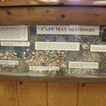 "Cape May ""diamond"" display"