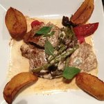 Veal with Gorgonzola sauce
