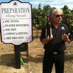 Dr. Doug wine Education class