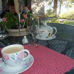 Tea and wonderful coffee service
