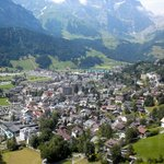 Village of Engelberg from the Brunni cablecar