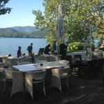 Lake view fro our table.