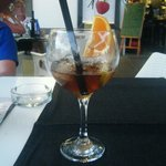 a very yummy long island iced tea !!