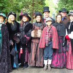 Headed to Victorian Christmas from Piety Hill Cottages