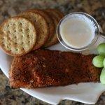 Smoked Salmon with Horseradish sauce