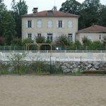 la maison des propriétaires, la piscine