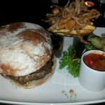 The Kents Burger is fab!! very meaty and filling and the relish!!