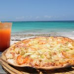Arguably the best pizza on Eleuthera.
