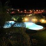 piscine vue de notre terrasse