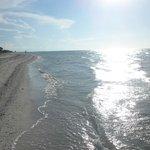 Playa antes del atardecer