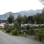 Pat of the campsite
