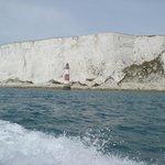 Leaving Beachy Head