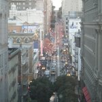 View of SF from our table