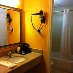 Acceptable washroom/sink area